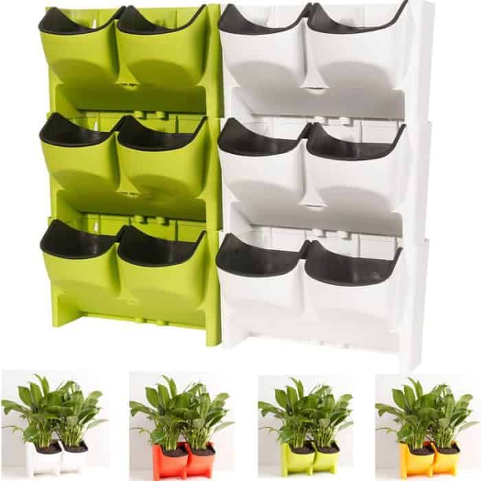 Wall Planters Stackable Flower Pot
