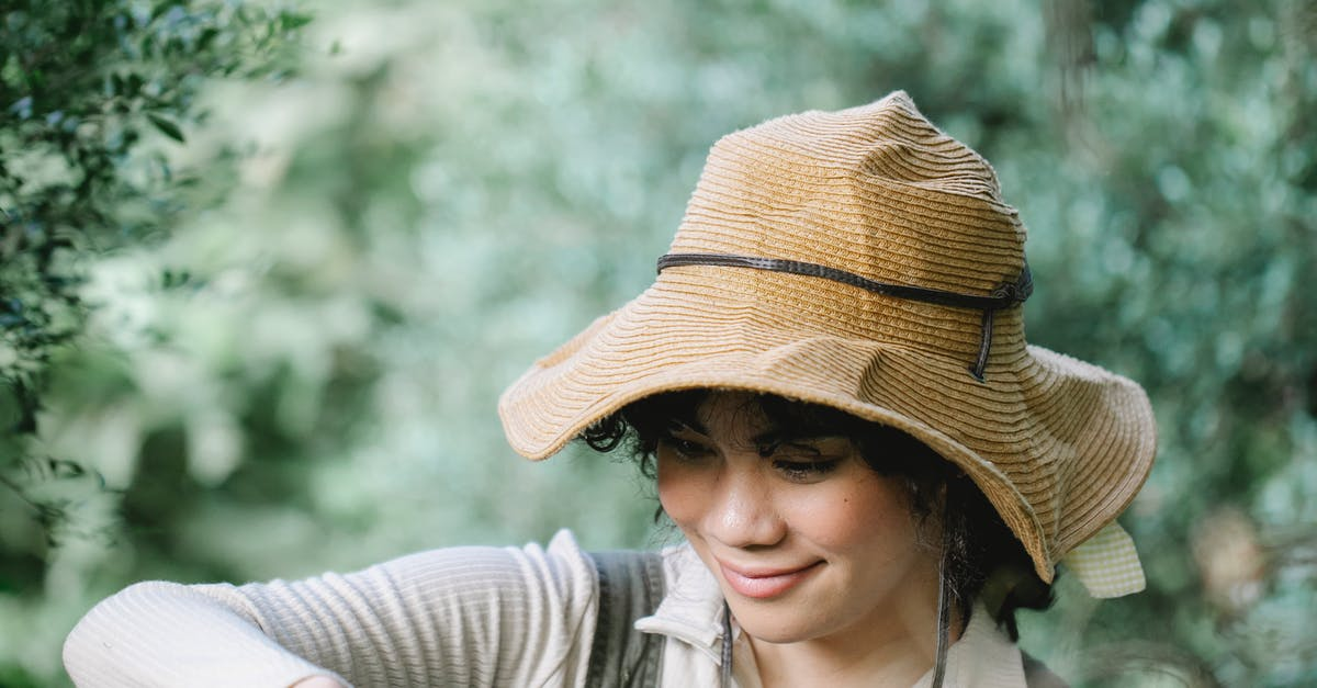 A person wearing a hat